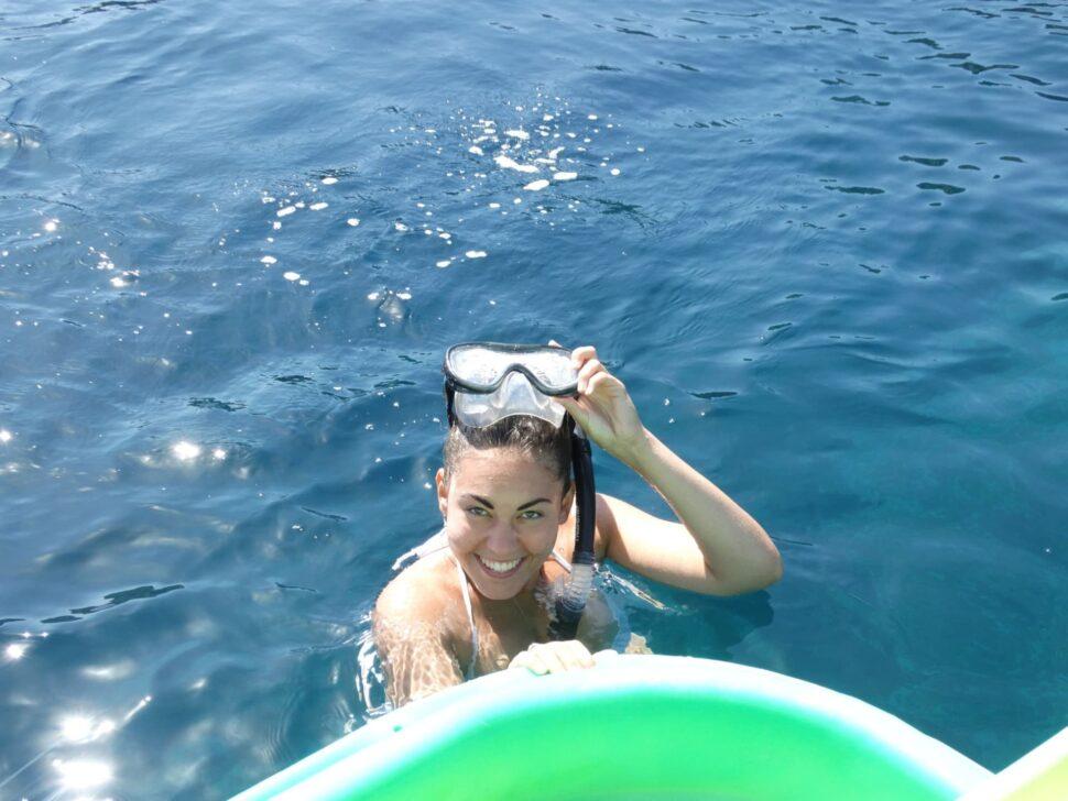 Markéta Králová - potápění
