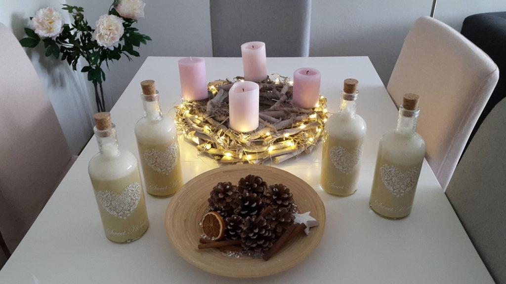 Andělský vánoční likér - dárek
