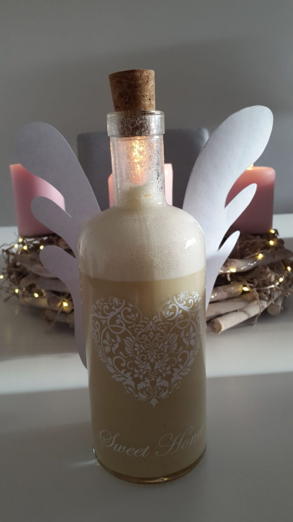 Andělský vánoční likér jako dárek