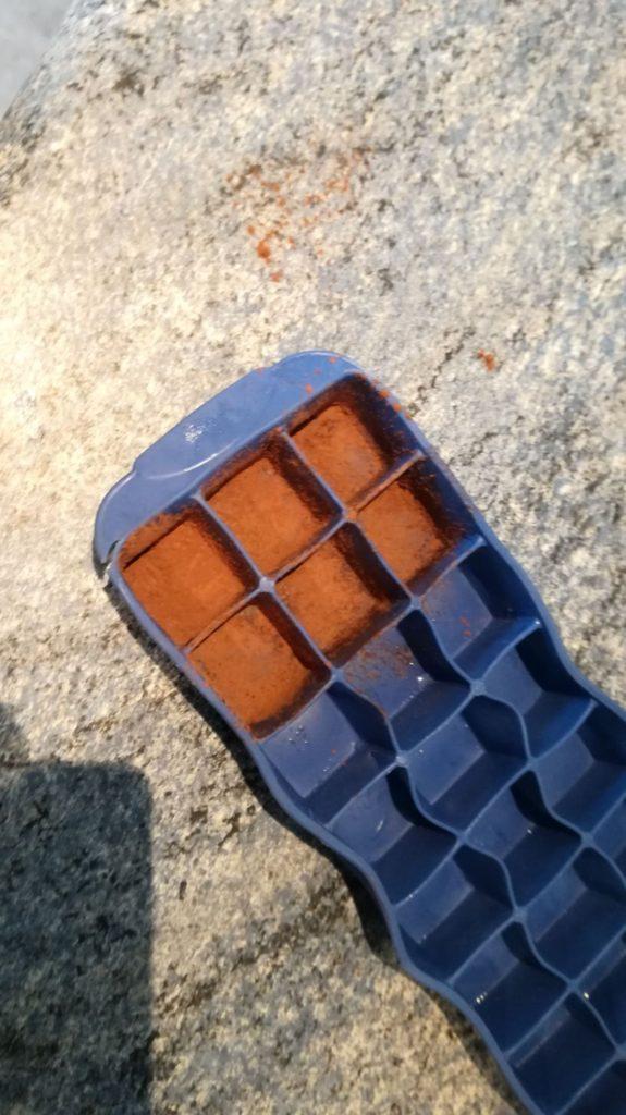 Čokoládové pralinky krok 1