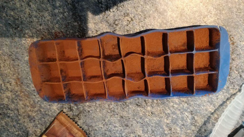 Čokoládové pralinky krok 2