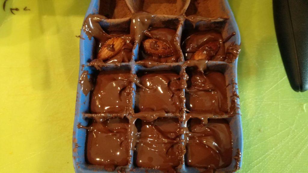 Čokoládové pralinky krok 5