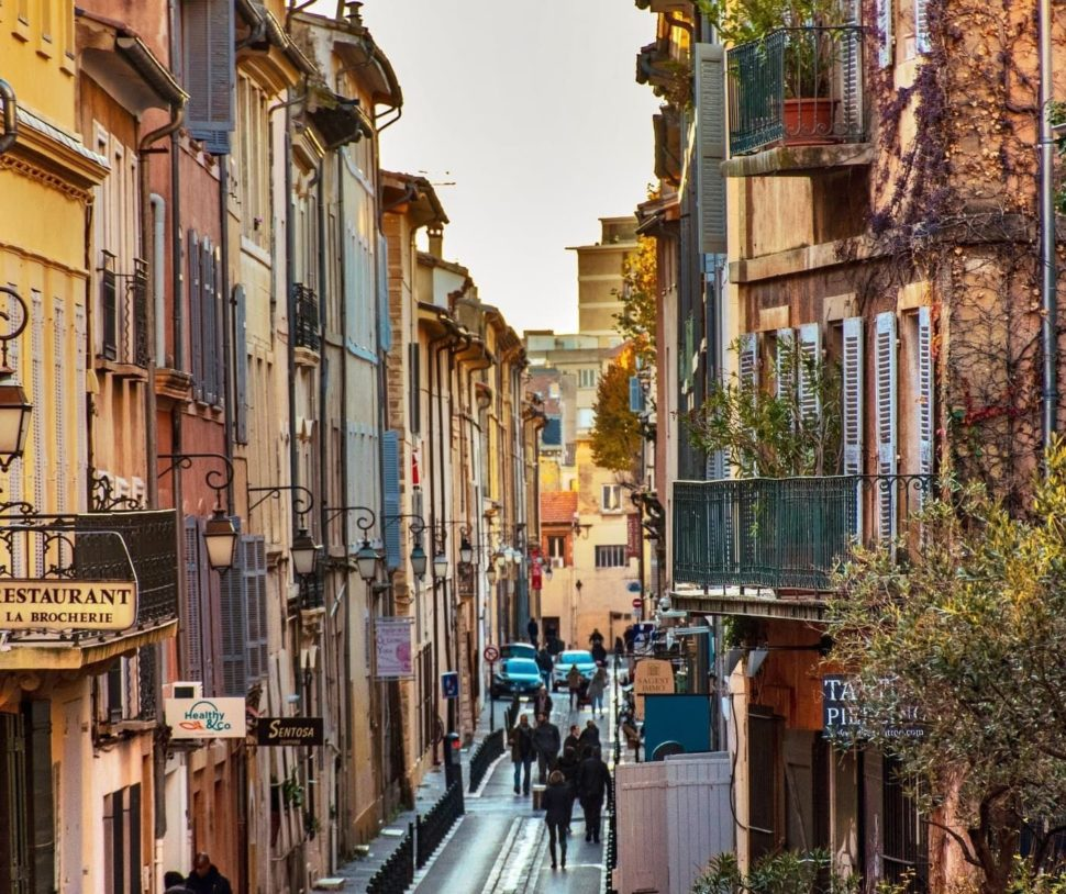 Městský život - Provence