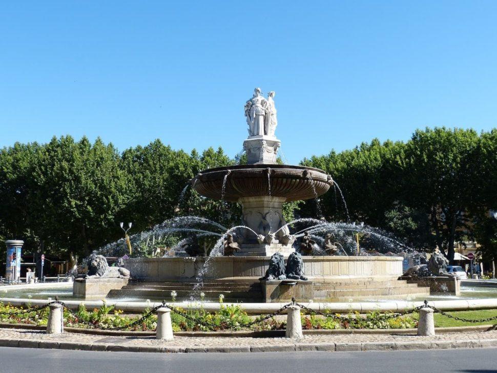 Provence fontána