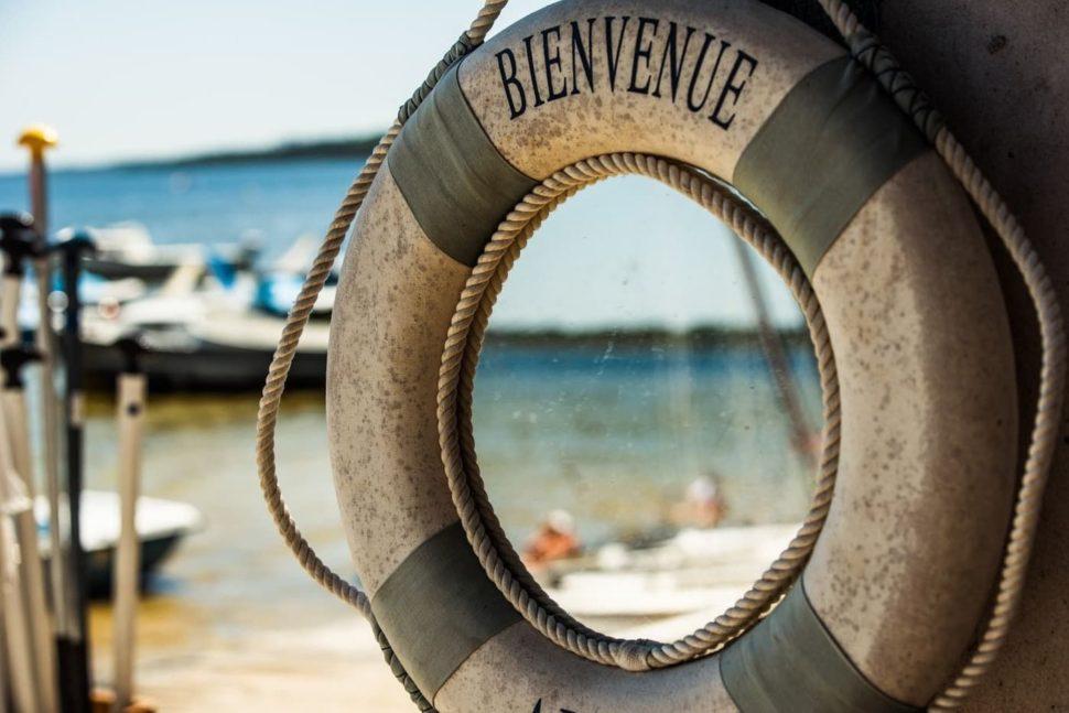 Provence - záchranný kruh