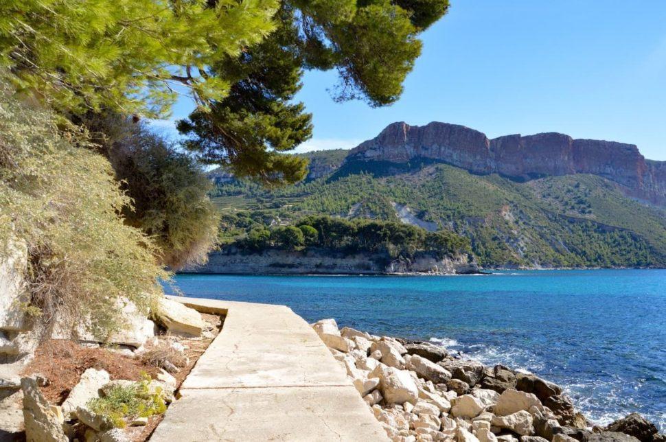 Vycházka kolem moře - Provence