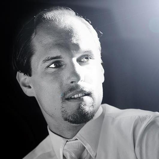 Ing. Michal Belan - černobílá